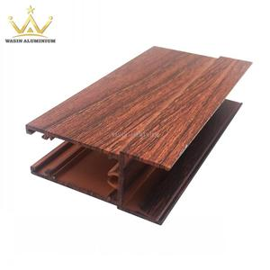 Wood Color Aluminium Profiles For Slide Windows​​​​​​​
