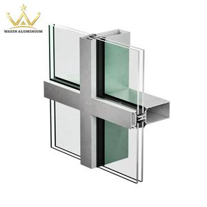 High Quality Curtain Wall Aluminum Profile From Foshan Direct Factory