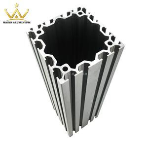 Types of industry aluminum profile for assembly line factory with various size