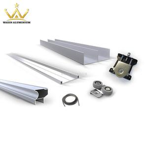 Customized aluminum profile for sliding wardrobe manufacturer