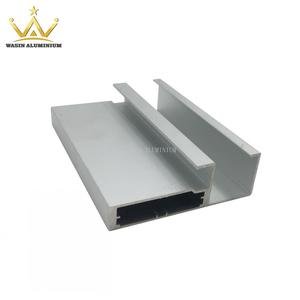 Anodized Silver Color Aluminum Profile For Kitchen Cabinet In Good Price