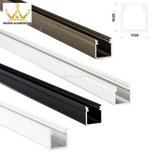 High quality aluminium profile for LED factory in difference color