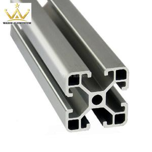 Customized aluminum industrial profile manufacturer for production line