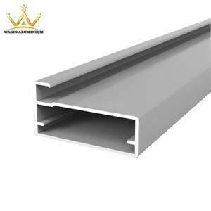 Silver Anodizing Extruded Aluminum Profile For Kitchen Cabinet