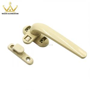 Low price single point lock handle manufacturer for aluminum casement window