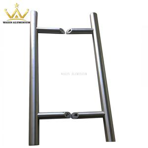 Good quality stainless steel pull handle manufacturer for glass door