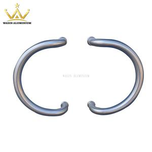 Stainless Steel Curve Handle For Aluminum Spring Door