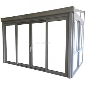 Hot Sale Aluminum Winter Garden With Sliding Window Door