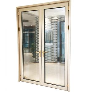 High quality aluminum casement door manufacturer