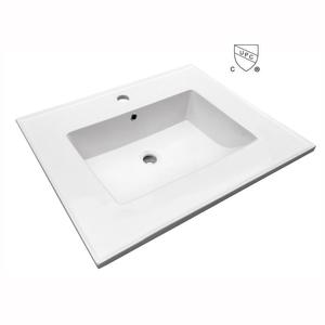 Rectangular Vanity-top Bathroom Sink