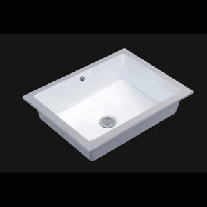 CUPC Vitreous China Wide Basin Bathroom Sink