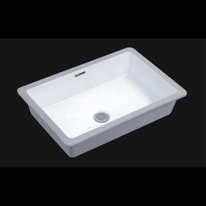 Under-mount CUPC Narrow Trough Bathroom Sink
