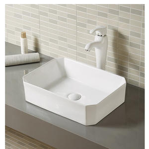 Porcelain bathroom wash basin