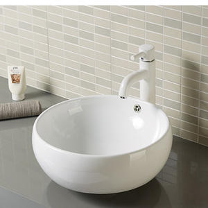 ODM Round counter top lavatory bathroom wash basins bowls manufacturers