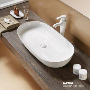 Large Size Porcelain Bathroom Wash Sink