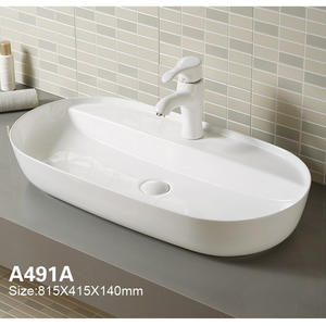 OEM White Vessel Bathroom Sink Factory