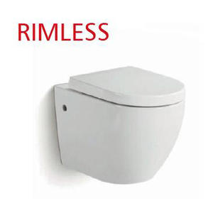 Rimless Compact Dual Flush Toilet