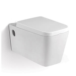 Square Commercial Dual Flush Toilet