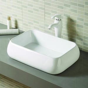 Vanity Top Hand Square Bathroom Basin