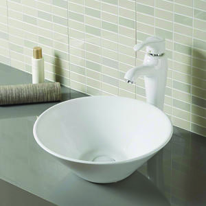 Porcelain Wash Basin On Countertop