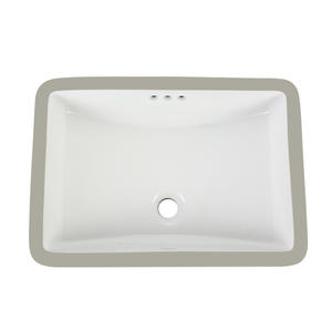OEM White Square Bathroom Sink Factory
