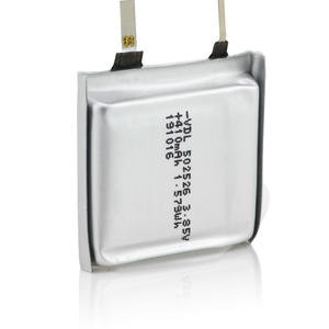 502526 Pouch polymer battery for TWS charging box,which is also designed for the world top brands