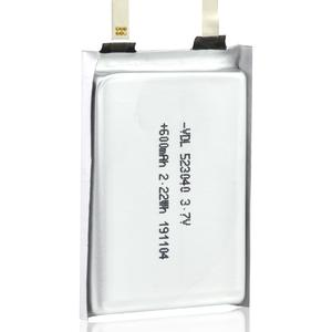 523040 3.7V ,600mAh Square Battery