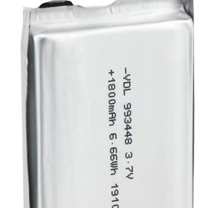 Large capacity rechargeable battery 802540 3.7V,800mAh, can be used for power bank or other portable devices
