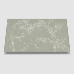 China WG454 Icecrack Grey quartz surface countertops supplier
