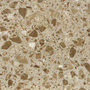 China Terrazzo Tiles Producer-WT234 Wood Light Brown