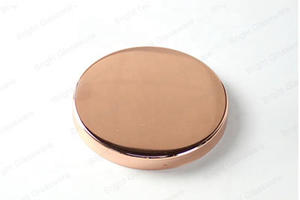 custom Custom Size Rose Gold Copper Metal Candle Lid For Sale  manufacturer