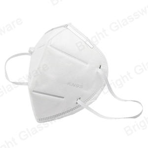 custom Ce FDA Anti Pollution Disposable Earloop Kn95 Face Mask manufacturer