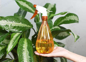 New 500ml Pet Plastic Disinfectant Bottles Trigger Sprayer Bottle Plastic Garden Cleaning Bottles