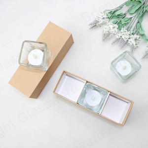 high quality cardboard kraft paper votive tealight candle boxes