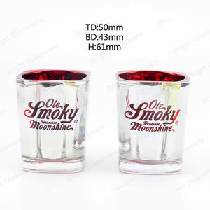 votive tealight glass candle jars square candle containers with custom logo