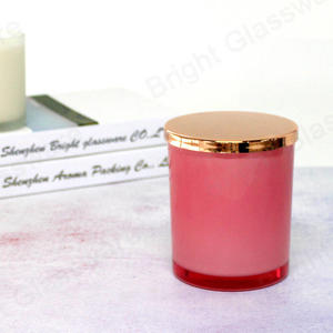 Christmas decoration rose gold candle lid for glass candle holder use