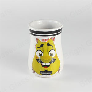 wholesale animal ceramic cups with cartoon design for children