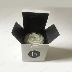 China Factory Cheap Black And White Candle Box Wholesale