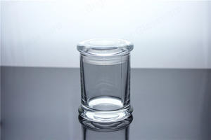 Glass Libbey Status Jar 6oz With Flat Lid