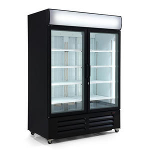 High Quality Commercial Display Freezer with ISO certified
