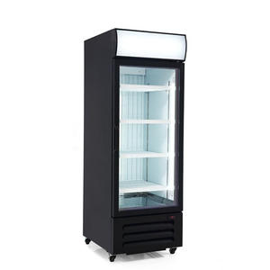 High Quality Single Door Freezer Merchandiser with ISO certified