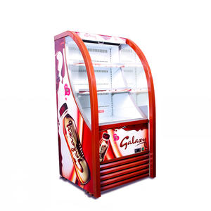 High Quality Milk Display Fridge with ISO certified
