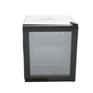 Mini Bar Cooler Glass Front Mini Fridge