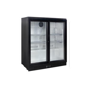 Double Door Back Bar 18 Inch Beverage Cooler