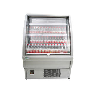 High Quality Open Display Fridge with ISO certified