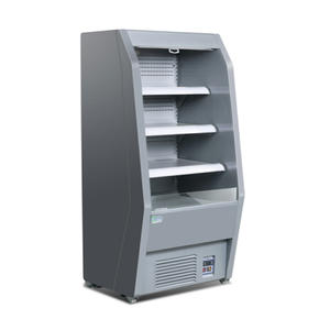 High Quality Open Commercial Fridge with ISO certified