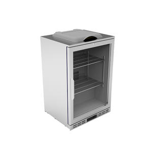 Customized Glass Front Beverage Fridge Suppliers with ISO certified