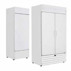 Double Hinge Door Medicine Refrigerator Metal Beer Cooler