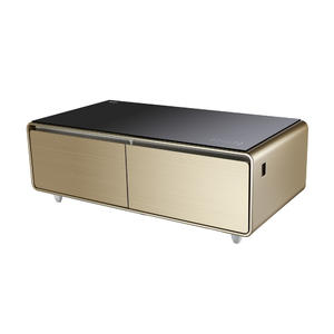 High Quality Smart Music Table Fridge with ISO certified