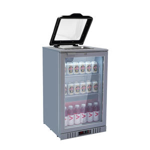 High Quality Back Bar Gn Pan Display Cooler with ISO certified